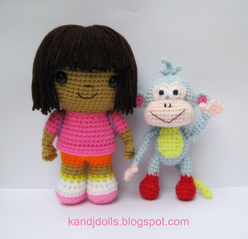 Dora and Boots - dora-the-explorer Photo