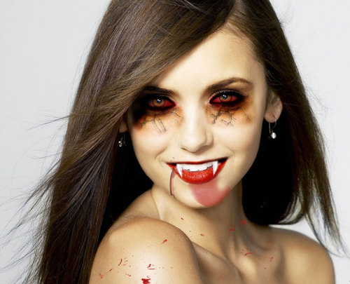 The Vampire Diaries TV ipakita wolpeyper called Elena/Nina vampire