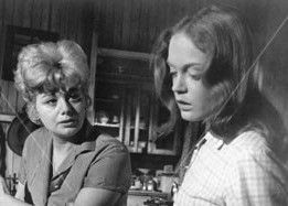 Elizabeth Hartman and Shelley Winters in A Patch Of Blue