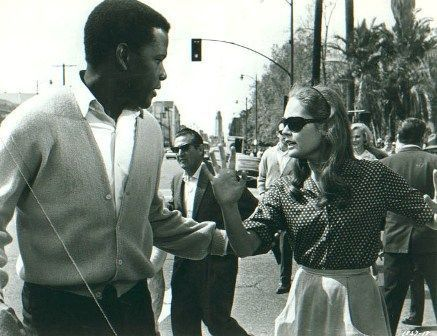 Elizabeth Hartman and Sidney Portier in A Patch Of Blue