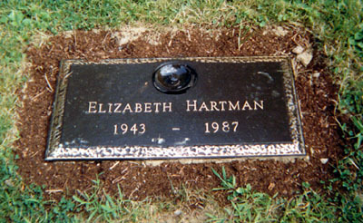 Elizabeth's grave
