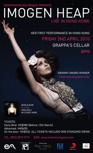 Ellipse Hong Kong 2010 Poster - imogen-heap Photo