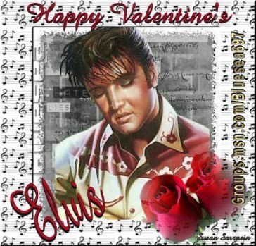 Elvis My Valentine - elvis-presley Fan Art