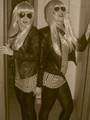 Exclusive: 2 Girls Going GaGa For National Lady GaGa Day!  - lady-gaga photo