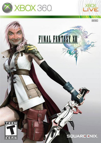 Mr. bohne Hintergrund called Final Fantasy XIII