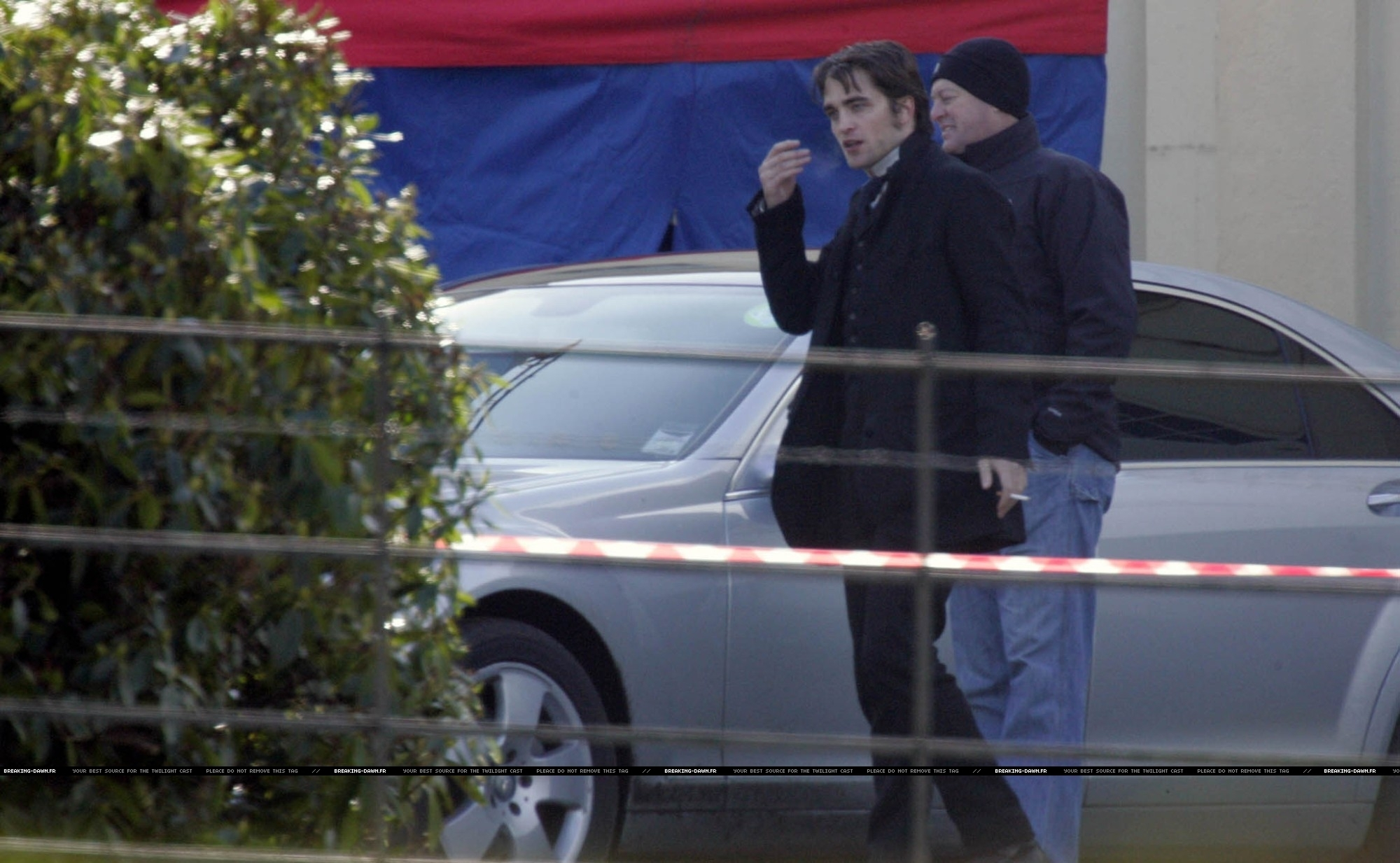 First Pics from Bel Ami Set: Robert Pattinson is Georges Duroy