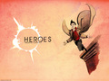 Flying Peter Wallpaper - heroes wallpaper