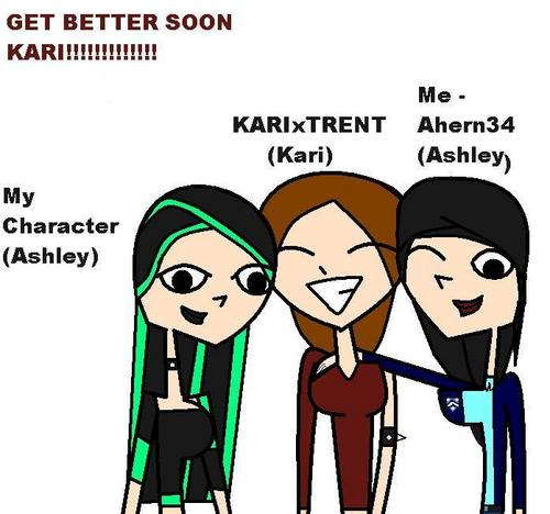 For KARIxTRENT, HOPE U FEEL BETTER AND COME BACK SOON!!!