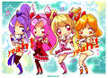 Fresh! Pretty cure cast