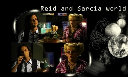 criminal minds wallpaper titled Garcia / Reid