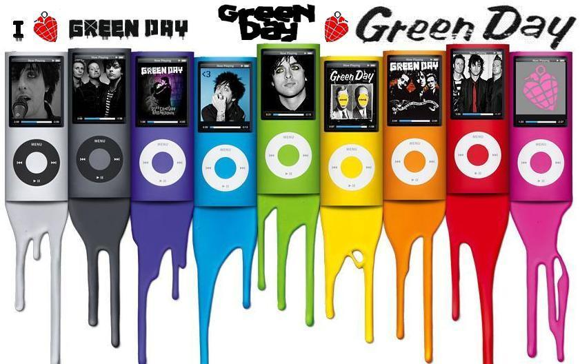 Green Day ipod