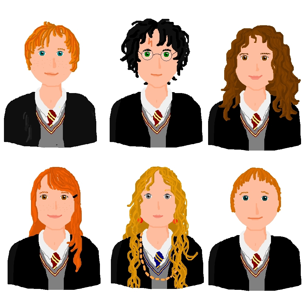 how to create a harry potter character