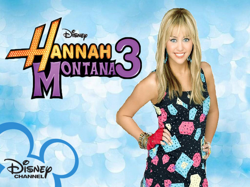 Hannah Montana blue background pics
