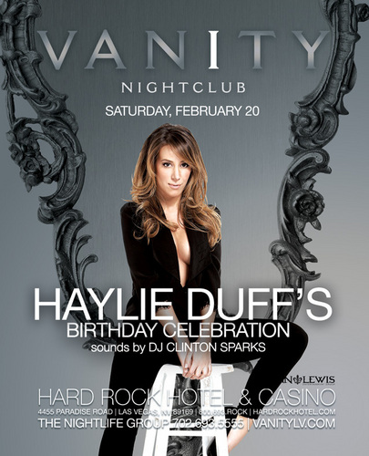 Haylie's birthday