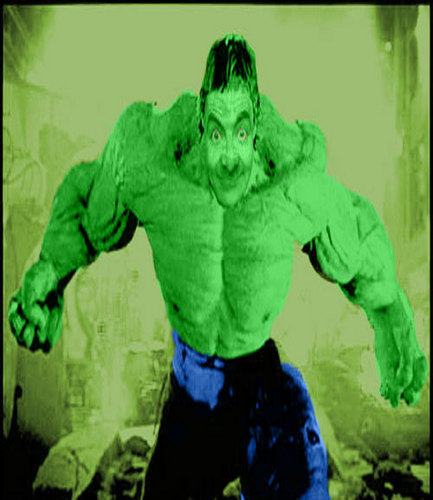 Mr. bohne Hintergrund called Hulk bohne