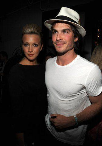 Ian Somerhalder and Katie Cassidy