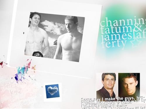 James Lafferty and Channing Tatum