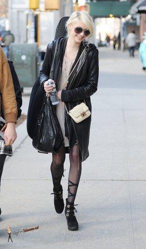 Jan 20: Filming 'Gossip Girl' in Astoria, Queens - NYC