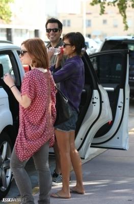 Jessica out in Miami