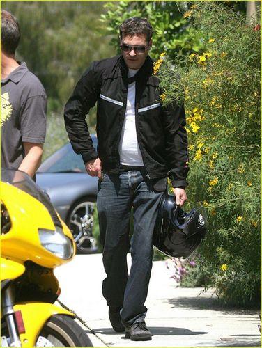 Joaquin Phoenix Motorcycle