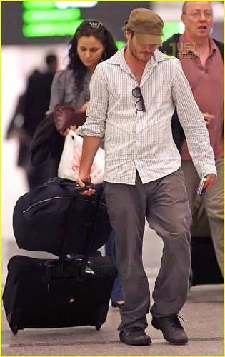 Joaquin at Toronto Airport