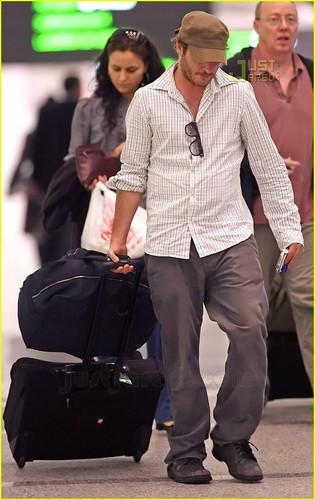 Joaquin at Toronto Airport