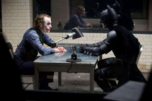 Joker & Batman (Behind Scenes)