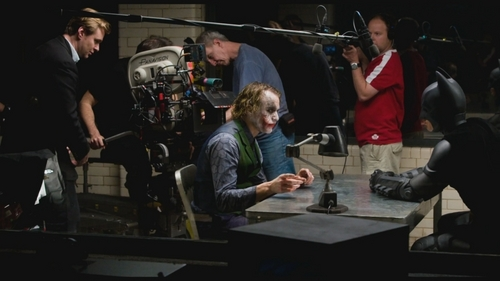 Joker & Batman (Behind Scenes)
