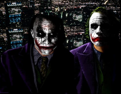 小丑 壁纸 titled Joker Gotham City