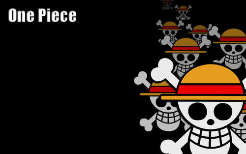 One Piece kertas dinding called Jolly Roger