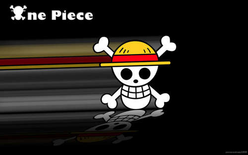 One Piece fond d'écran titled Jolly Roger