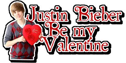 Justin bieber valentine commentaren