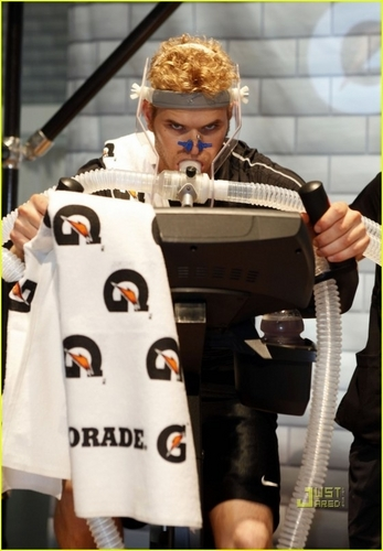Kellan Lutz At The Gatorade Performance Center