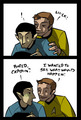 Kirk & Spock - spirk fan art