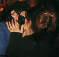 Kiss with Lisa Marie :O - michael-jackson photo
