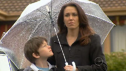Libby and Ben in the Rain