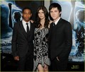 Logan Lerman at the premiere of Percy Jackson & The Olympians: The Lightning Thief