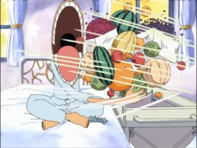 Luffy Eating Monkey D Luffy Image 10361314 Fanpop