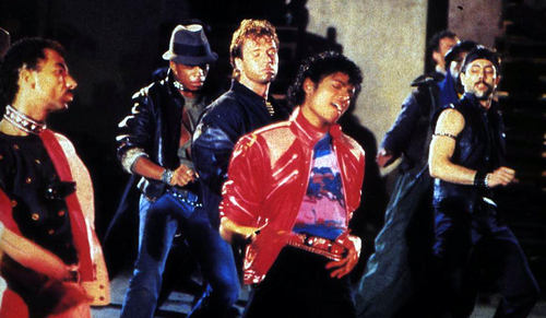MICHAEL JACKSON BEAT IT MUSIC VIDEO