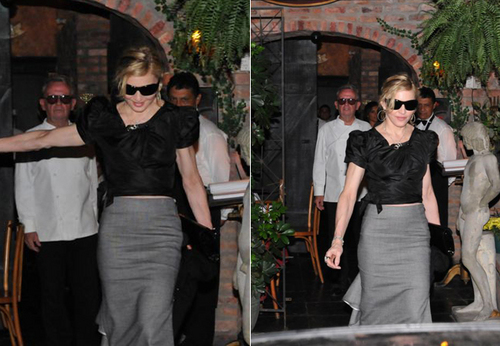 Madonna with Jesus in Rio (February 09 2010)
