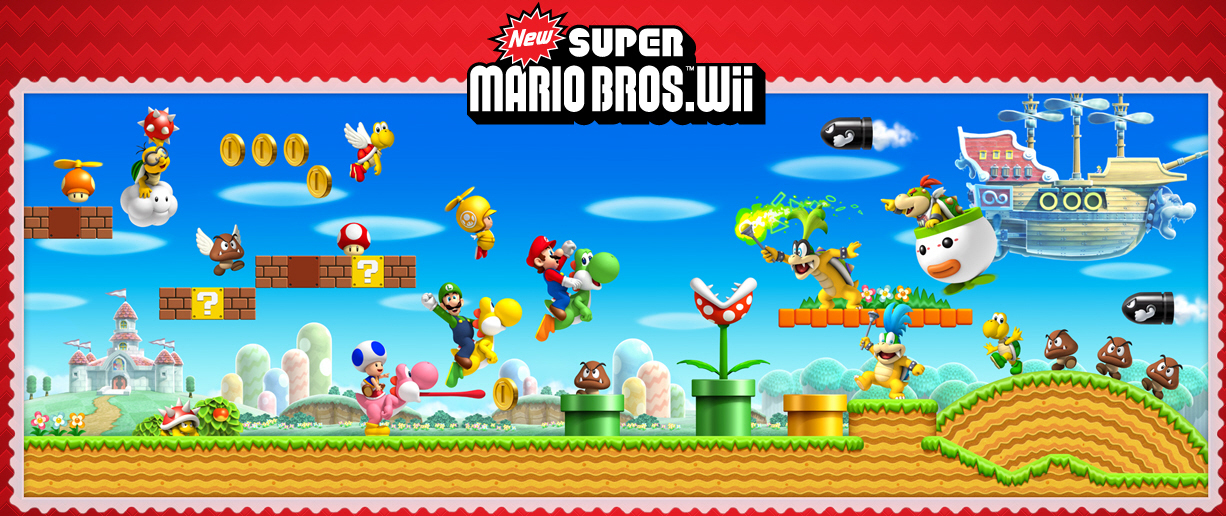 New Super Mario Bros Wii Images Mario Wallpaper Hd Wallpaper And