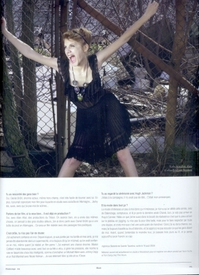 Melanie for Blast Magazine (2009)
