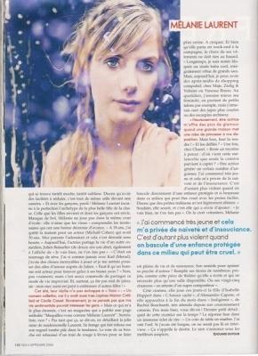 Melanie for Elle France Magazine (September 2006)