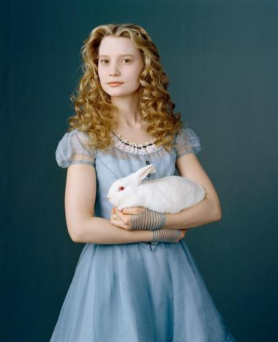 Alice in Wonderland (2010) wallpaper titled New Alice in Wonderland Mia Wasikowska Photoshoot