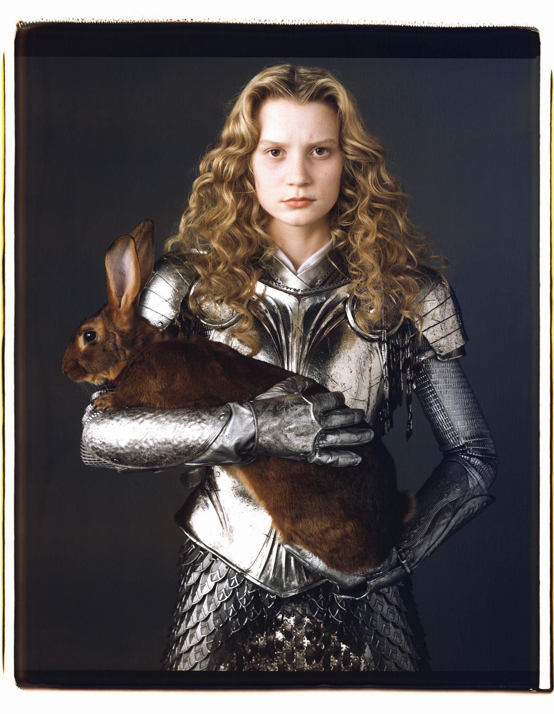 New Alice in Wonderland Mia Wasikowska Photoshoot