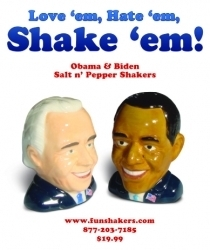 Obama / Biden Fun Shakers