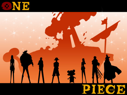 One Piece kertas dinding called One Piece