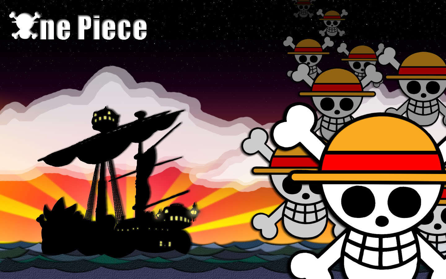 《海贼王》 壁纸 entitled one piece