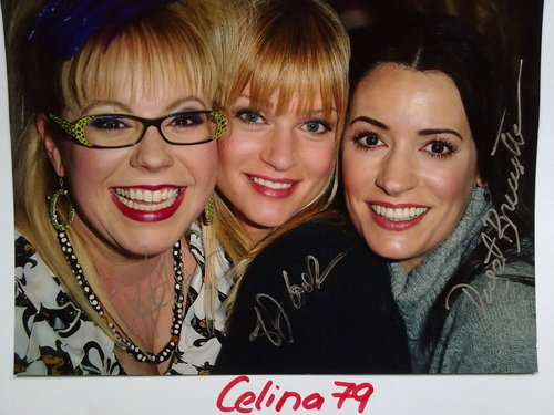 Original Autographed foto of Paget/AJ and Kirsten