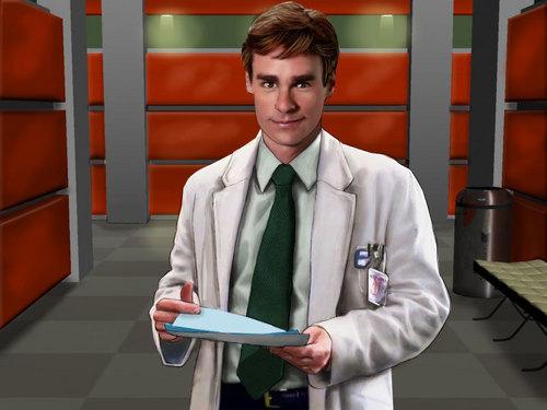 Dr. James E. Wilson Hintergrund titled PC Wilson